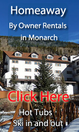 ski in out by owner vacation rentals in monarch