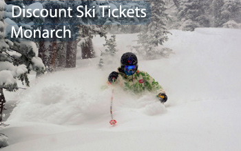 monarch ski resort discount ski tickets and by owner lodging